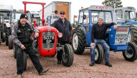 Mid-Ulster Vintage Tractor Run in aid of Evie's Special Bow
