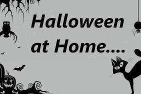 Hallowe'en happenings at home!