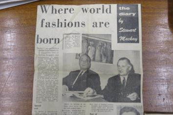 When Dungannon was fashion capital of the world!