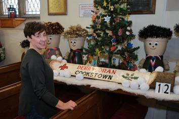 "Derryloran Parish Church ""Christmas Carol Creations"" exhibition in aid of Parish Hall Restoration Fund"