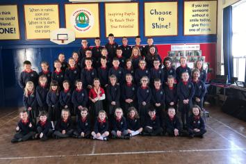 Stewartstown Primary School pupils are World Champions again!