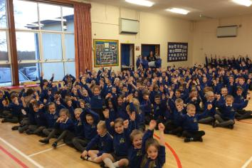 Birches PS named best school in County Armagh!