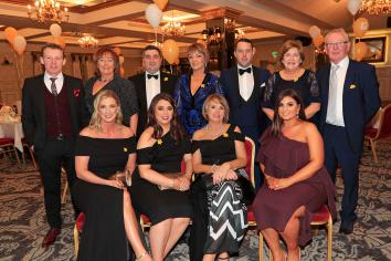 Annual Marie Curie Daffodil Ball held in Glenavon Hotel