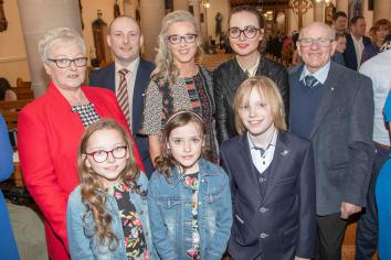 Mid-Ulster school children celebrate Confirmation at Holy Trinity Church, Cookstown