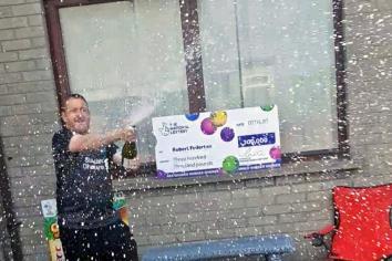 Castledawson man on furlough scoops £300,000 on scratch card!