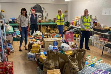 Kildress family to the rescue as Mid-Ulster foodbank runs low