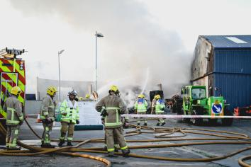 Cookstown recycling plant blaze 'accidental'