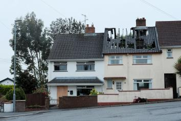 Dungannon house blaze family thanks community for help