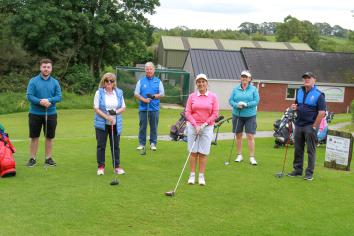 All go for Dungannon golfers
