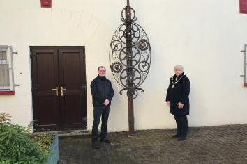 NEW art sculpture unveiled
