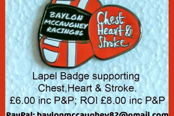 Baylon badge to raise funds for charity