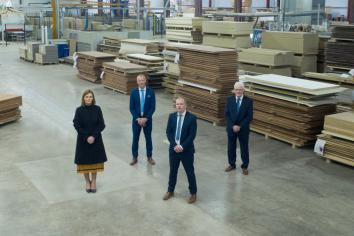 Dungannon joinery business has announced plans to invest £8million and create 150 new jobs in the next five years.