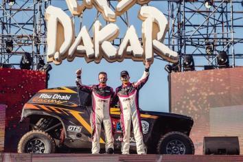 Kris Meeke enjoys adventure of a lifetime in Dakar Rally