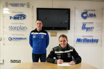 Dungannon Swifts appoint Dean Shiels as new manager