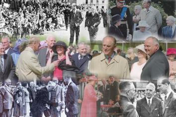 Sadness has been felt throughout towns and villages in Tyrone and Mid-Ulster, where Her Majesty The Queen and The Duke of Edinburgh have been regular visitors.