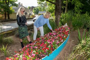 Blooming marvellous! Royal approval for Donaghmore Horticultural Community