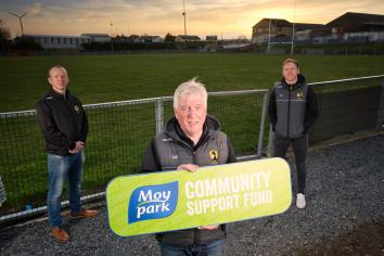 Clonmore GAA Club receives £12,000 for lighting project