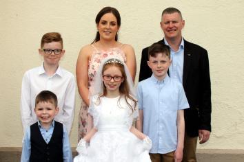 St Patrick's PS, Glen, Maghera First Holy Communion.