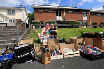 Dungannon couple grateful for community support after home destroyed in arson attack