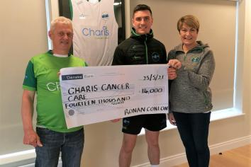 Cookstown man walks 'Capital 2 Capital' in aid of cancer charities