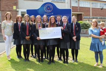 Aughnacloy College supports Riley's Cause