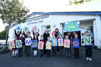 Education Minister launches NI100 Art competition