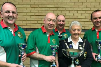 Mid-Ulster men bowl over all comers to bag British Isles Championships
