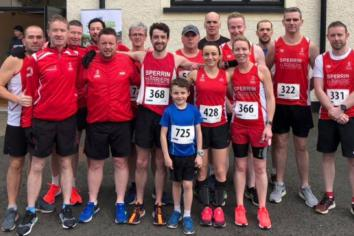 Harriers end and start year in fine style