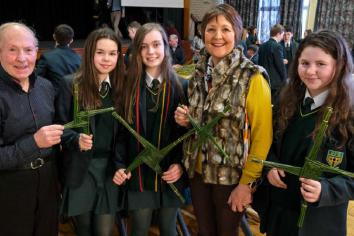 St Joseph's celebrates St Brigid's Feast Day and Grandparents' Afternoon