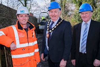 £250,000 investment as work on Maghera's 'Largantogher Walkway' begins