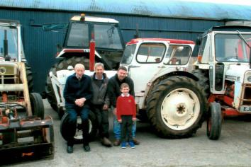 Moy family'stractor reaches50 not out.. and there's still plenty in the tank!