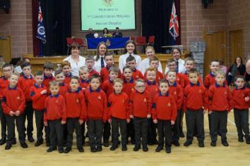 85th Display of 1st Caledon Boys' Brigade Company