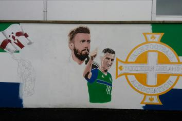 Mural of Cookstown footballing heroes to be unveiled