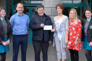 St Ciaran's College supports former pupil's Africa programme