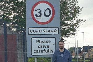 Quinn welcomes 30mph extension on Gortgonis Rd