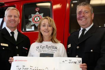 Pomeroy 'Run for Shane' raises £8,500 for Charity