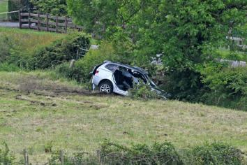 Man 'in a critical condition' following Dungannon crash