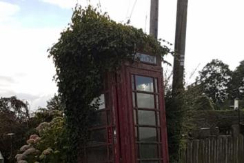 Dergina telephone kiosk is a lifesaver!