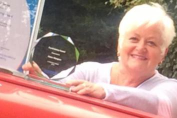 Inspirational Cookstown volunteer Helen wins Diabetes UK award