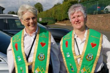 Aughnacloy hosts Feast of the Assumption AOH National Parade
