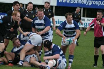 Dungannon men get the better of battling Ballymena in Senior Cup