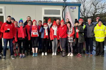 Harriers winter league continues at Lough Fea