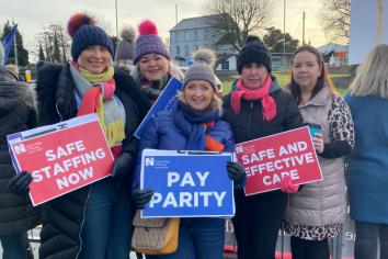 Industrial action continues as pressures on health service in Tyrone area grows