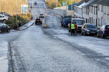 Beech Valley resurfacing scheme commences