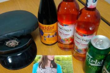 Alcohol seized from 12-year-olds at Drumcoo playing fields