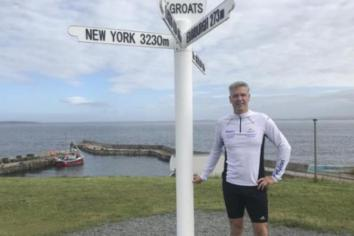 Cookstown native runs 31 marathons in 31 days for charity