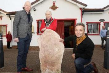 Brackaville GFC unveils new Art sculpture as part of Peace project