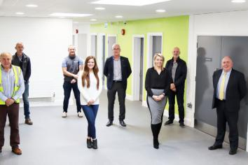 Completion of £500,000 refurbishment at Carrickmore College