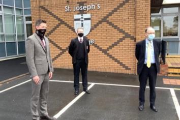 Minister praises Coalisland and Eglish schools
