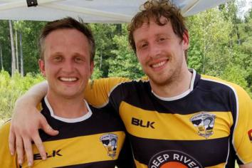 Rugby pals enjoying life as 'bootleggers' in the US